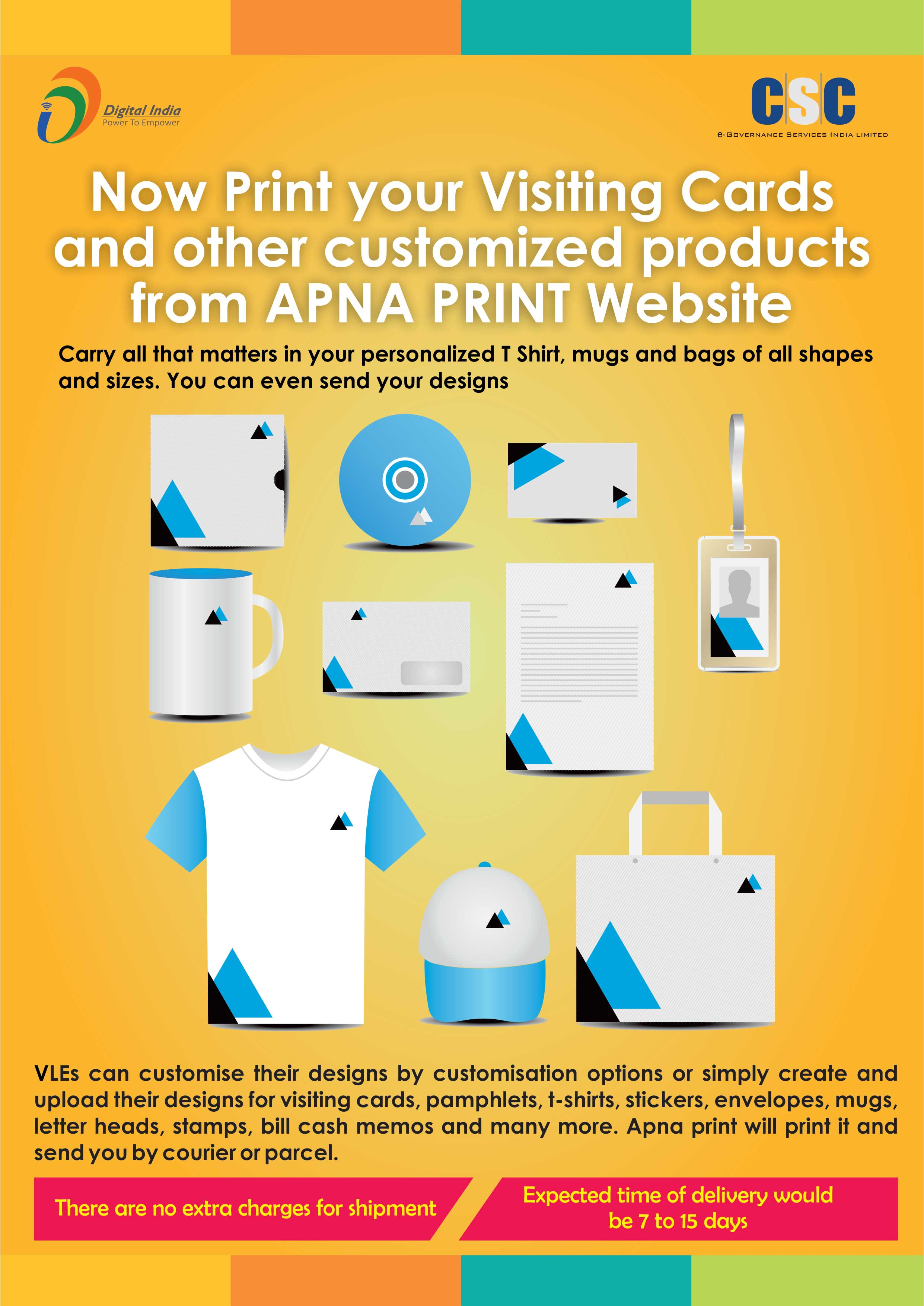Design your own t shirt india cash on delivery - Print Customized Products From Apna Print